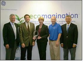 Wacker honored with GE Ecomagination Leadership Award