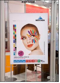 Neschen presents new display media and textiles