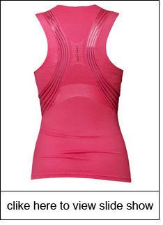 Eva Mendes sports Reebok's toning collection