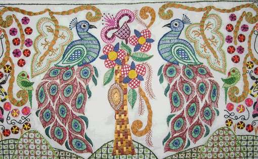 Different Forms of Indian Embroideries