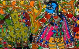 Madhubani Art - Depiction of True India