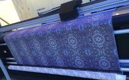 Before the Dawn of Digital Textile Printing Machines