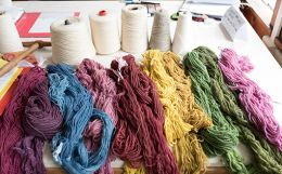 Walnut Dye for Wool & Silk & Development of a Color Palette for a Product Line