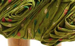 Best out of waste : Design & Construction of Home Furnishings by Using Old Discarded Saris