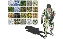 Global perspective on military textile