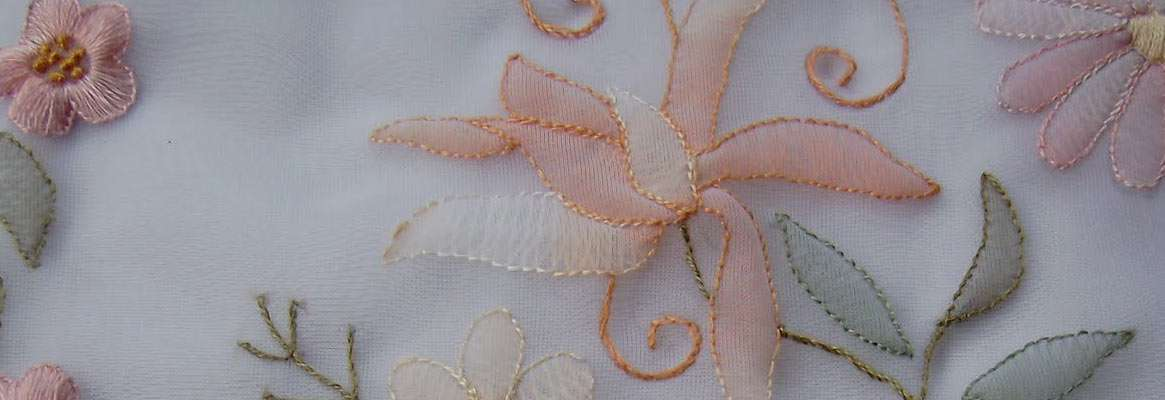The Secrets of Shadow Embroidery