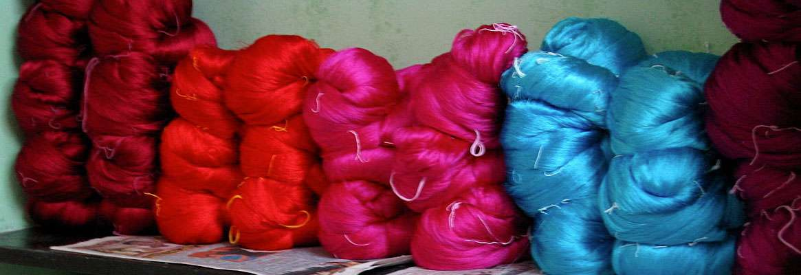 Problems Associated with Knitting of silk filament yarn