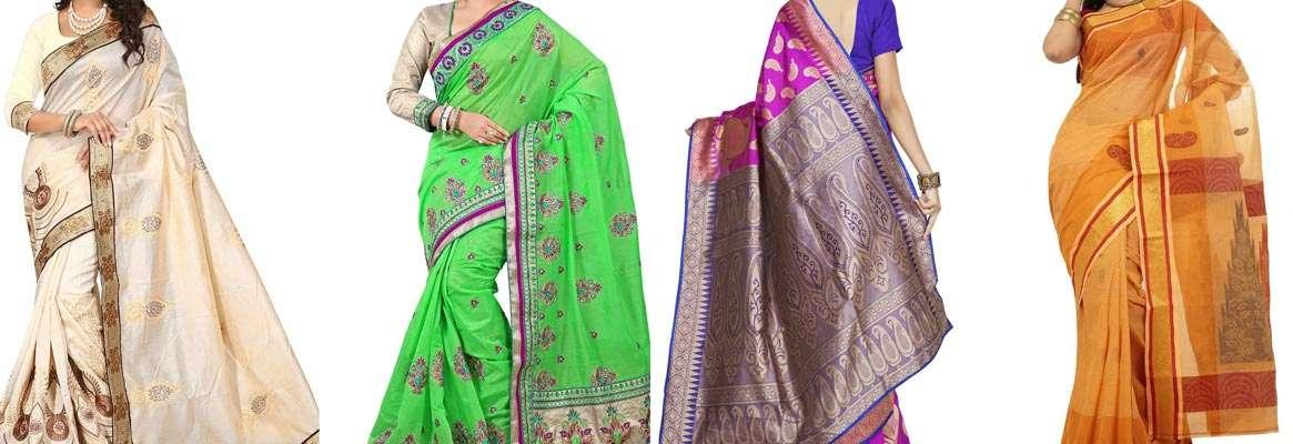 The beautiful world of indian sarees