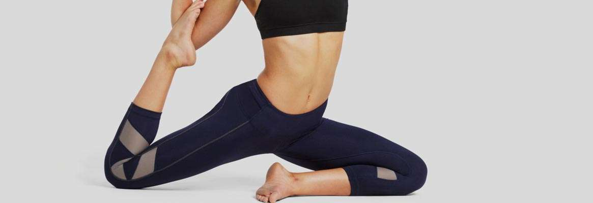 Yoga clothes need to move with you, your favorite jeans will not do it!
