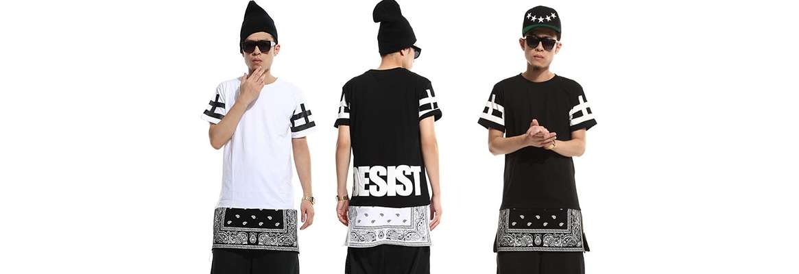 The beginning of hip hop clothing