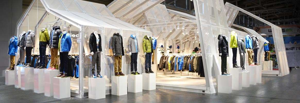 Make sure your display stands out in retail  stores and exhibitions