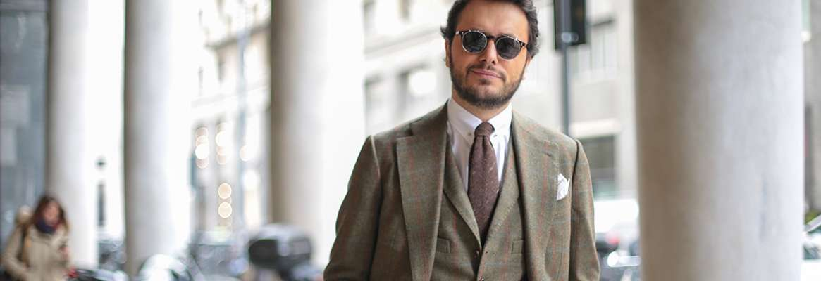 Cashmere mens suits overview