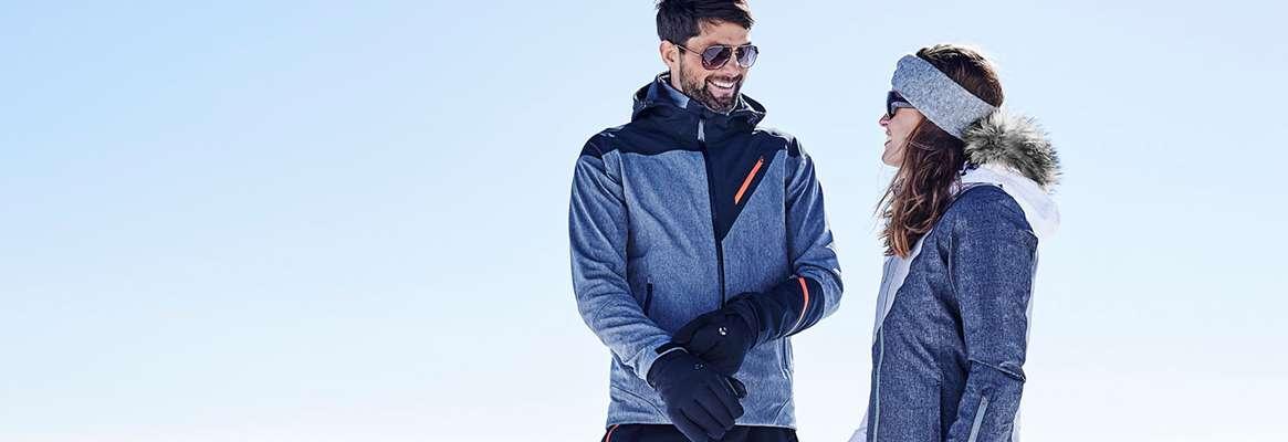 Soft shell skiwear