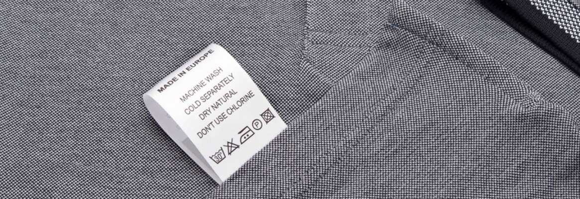 Clothing labels regulations for your garment