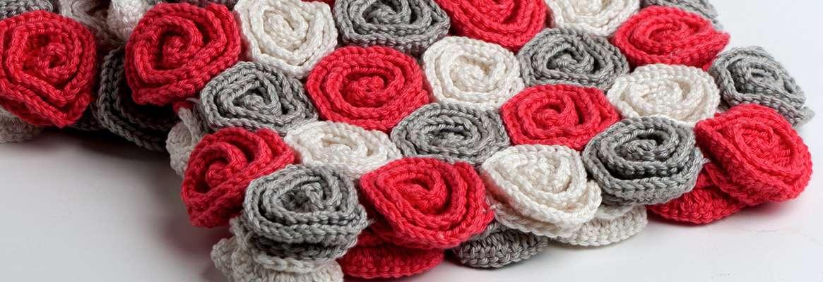 The elegance of afghan crochet pattern