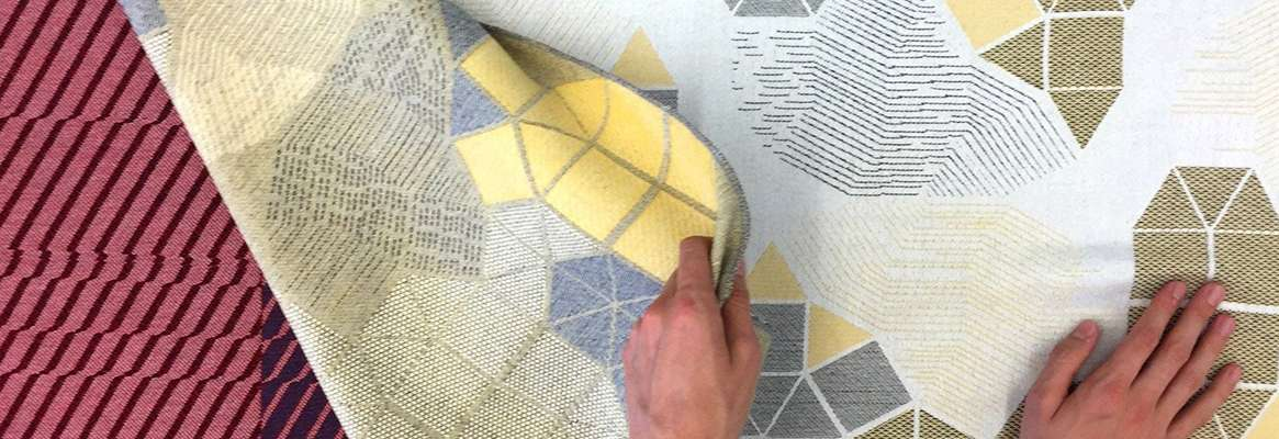 Using jacquard fabric