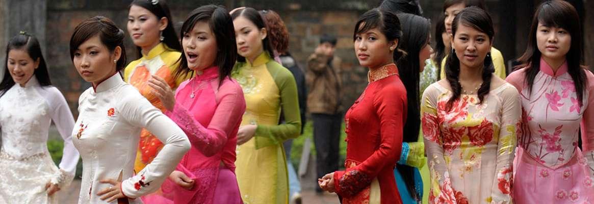 Ao dai - Vietnamese plus size fashion statement