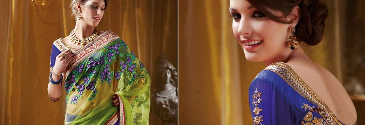 Indian sarees of the women