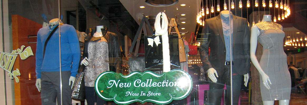 The retail world and store displays