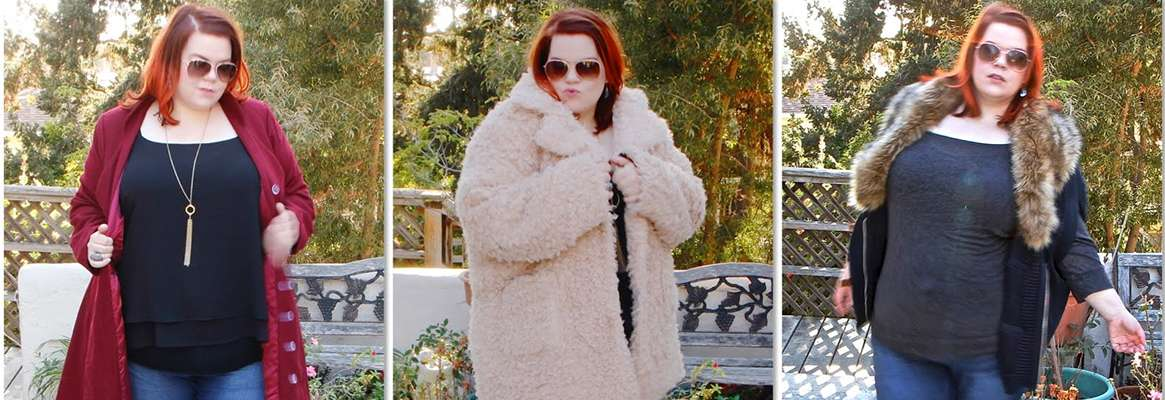 Plus size winter fashions with style