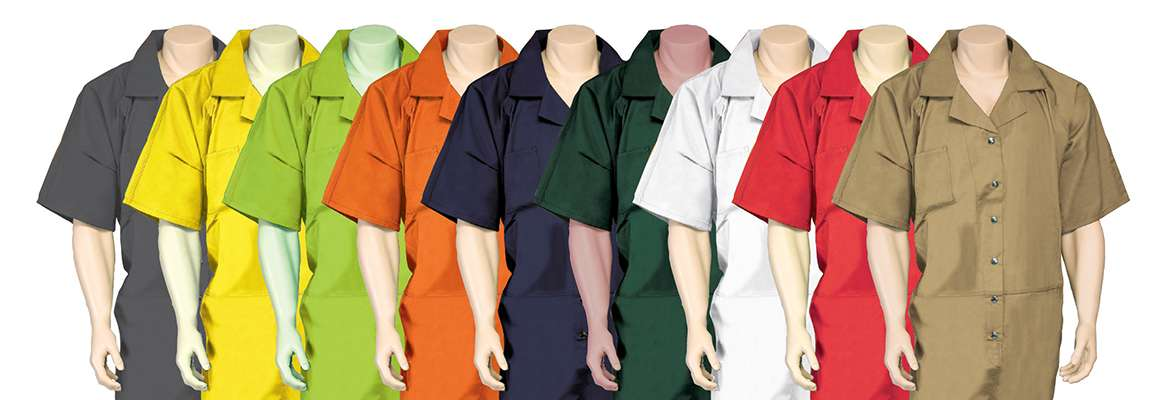 Coverall uniforms