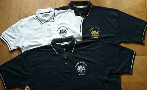 Embroidered Polo Shirt That Started Off As A Tennis Shirt