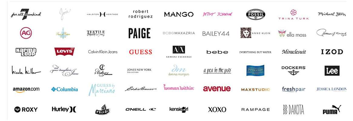 Logos for fashion and clothing