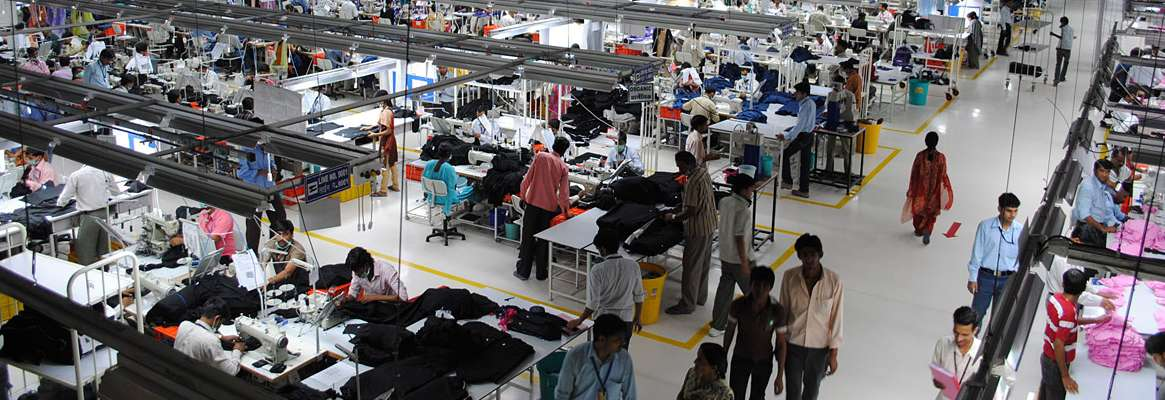 Reducing Waste, Garment Factory, Industrial Management, Total