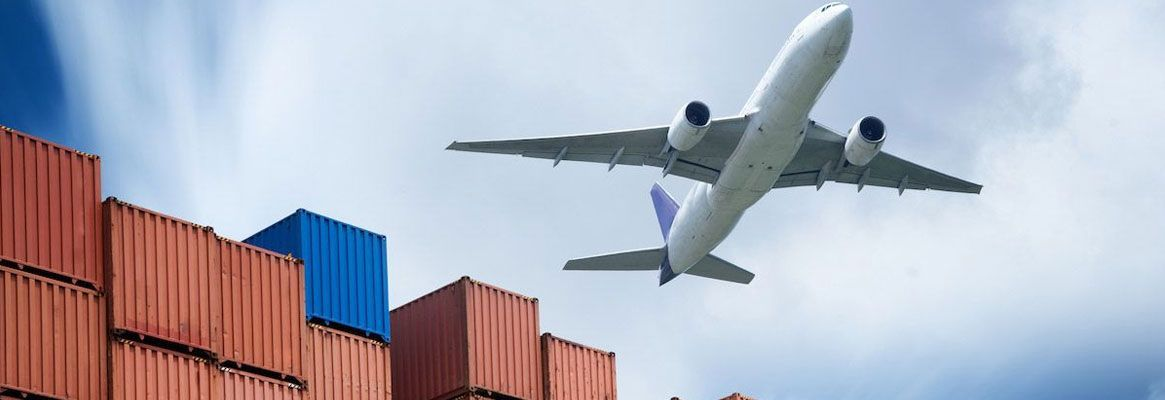 Material transport with air jet