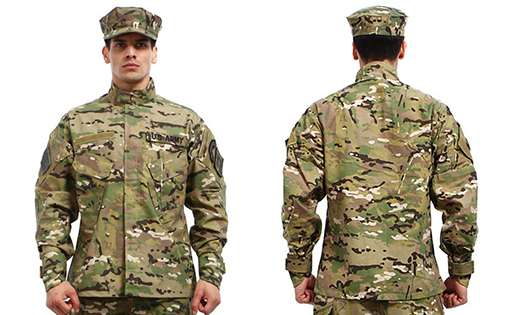 military uniform army uniform fabric nylon fabrics fibre2fashion 5