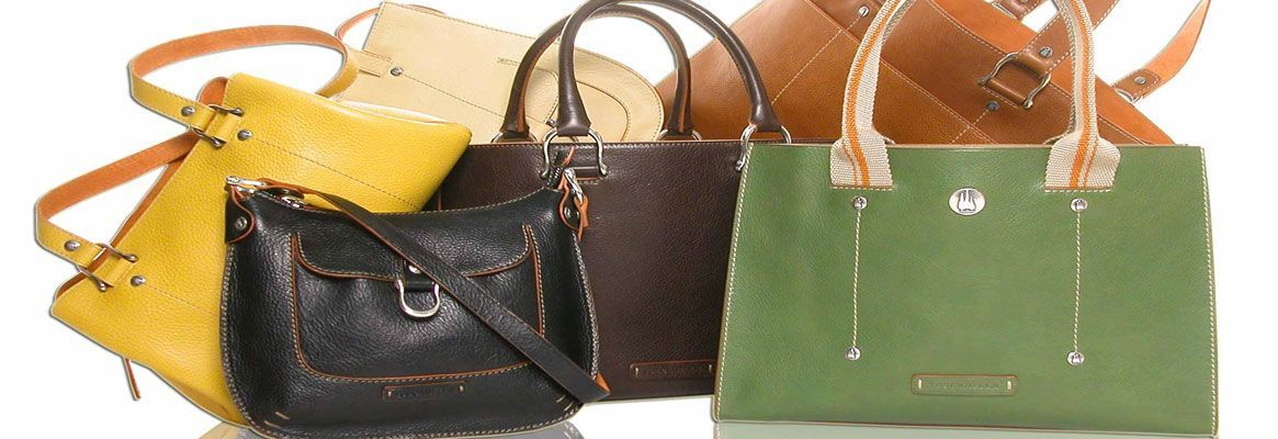 Exude great style with leather handbags