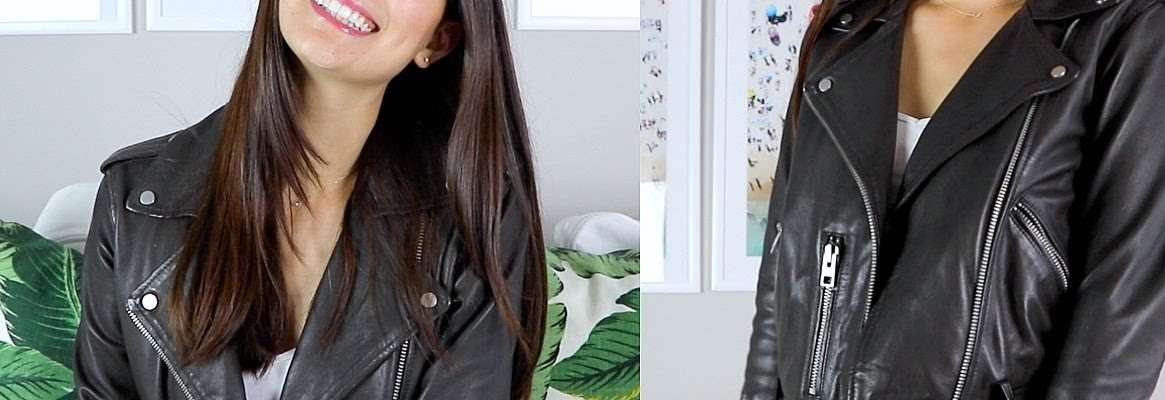 Leather jackets - Not just for safety anymore