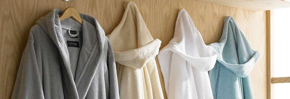 Cotton Bathrobes , Designer bathrobes, Luxury Bathrobes, Hooded Bathrobes -  Fibre2Fashion