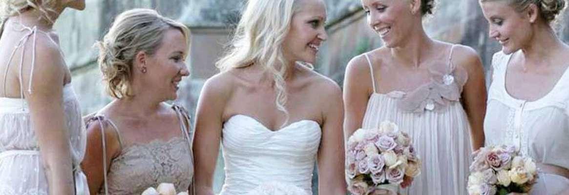 Bridesmaid dresses for a beach wedding