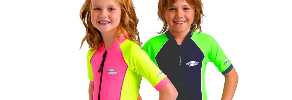 Apparels with UV protection for kids