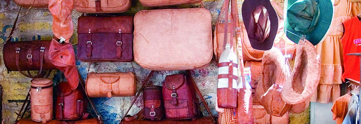 Leather work in Ajmer