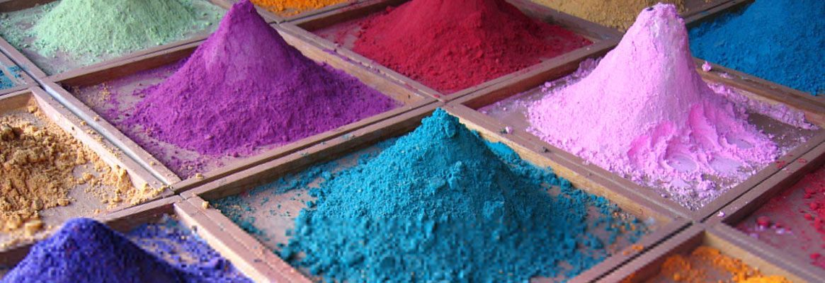 Bio auxiliaries in colorants industry