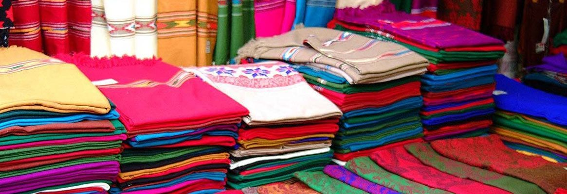 India's exports of textile products