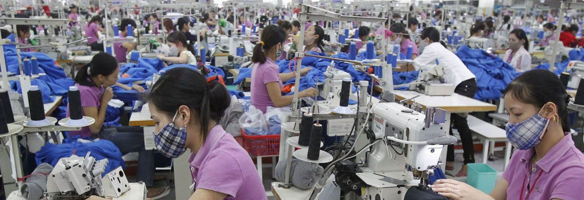 Odds against China's Supremacy in World Garment Export Market