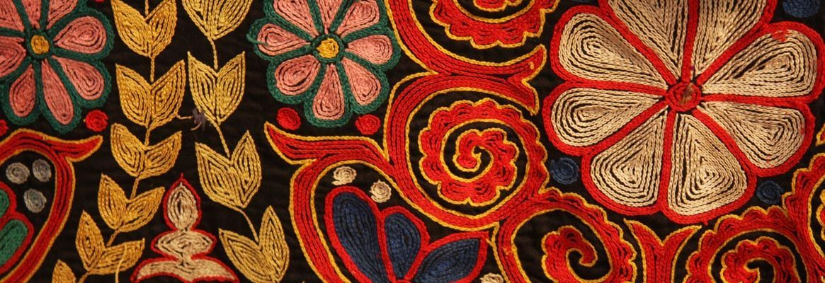 History Of Embroidery Handicraft Of Decorating Fabric Embroidered