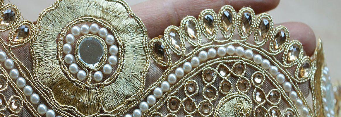 Redefining Khadi by Embellishment with Ribbon Work