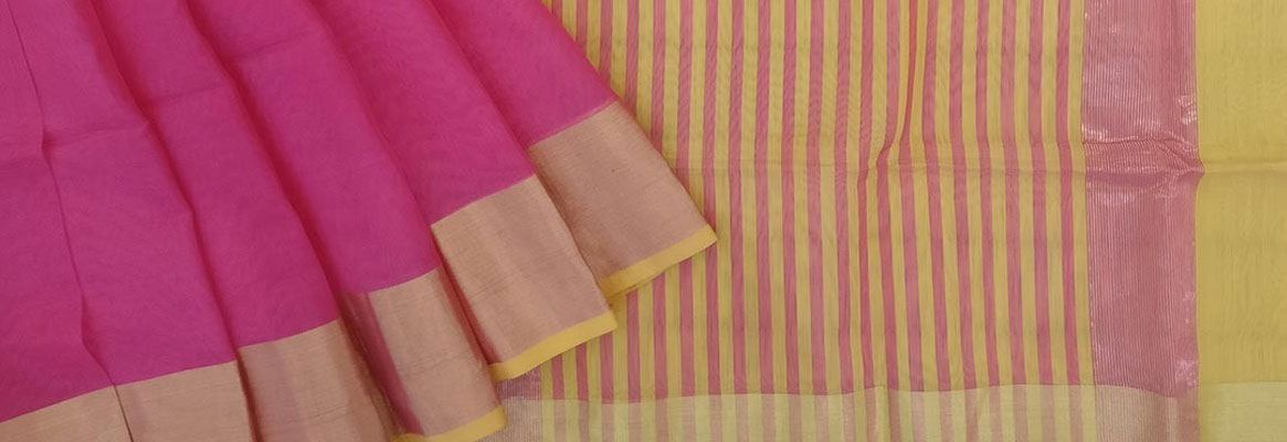 Innovative Printing on Handloom Cotton Fabric