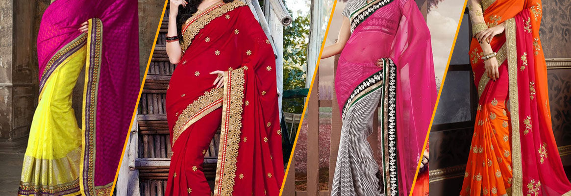Faux Georgette Sarees: Perfect for Winter Evenings