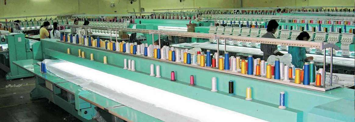 Indian textile industry, textile industry organization