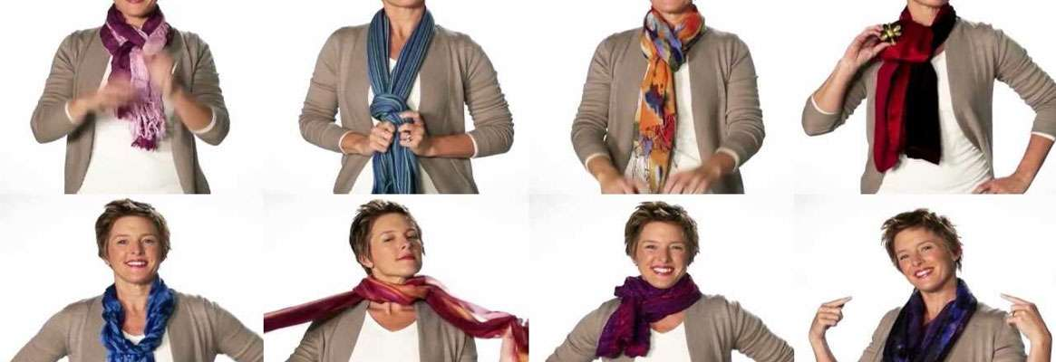 Several Trendy Scarf Fashion Tips