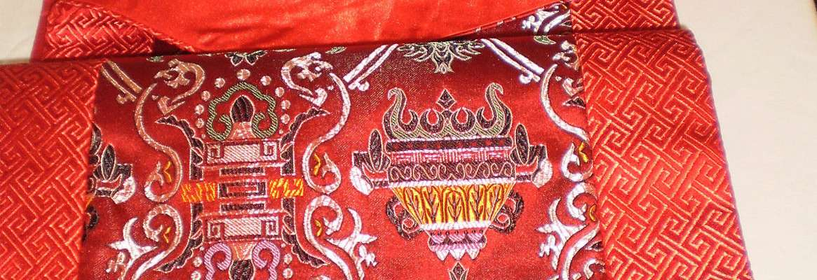 Luxury of Silk Embroidery