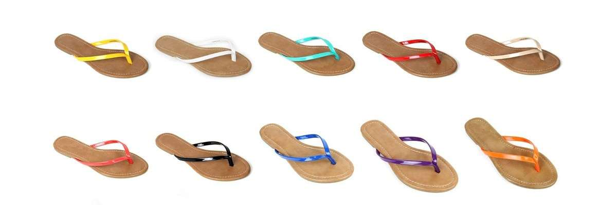 Women's Flipflops - Stylish Footwear