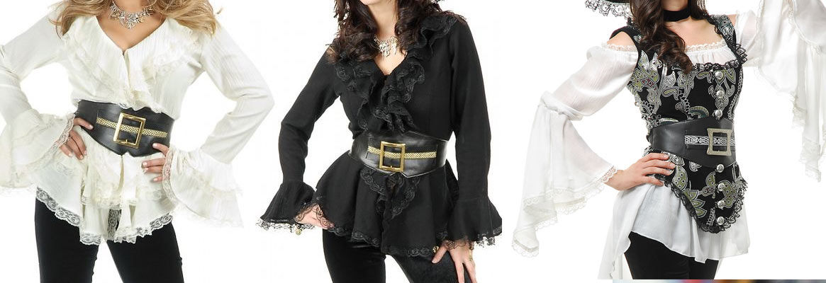 Pirate Blouses - What Exactly Are Pirate Blouses?