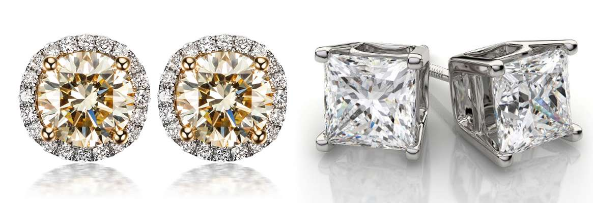 Moissanite Earrings: Cost Effective and Durable