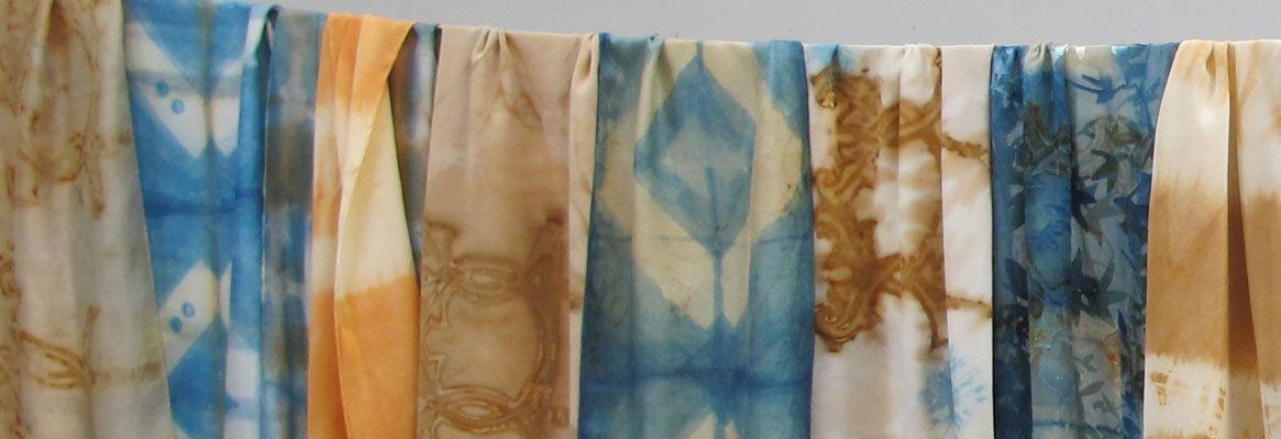 New Methods to Dye Silk with Indigo Dyes